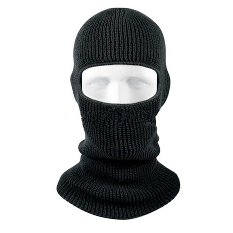 72788628a45 Get Quotations · Warm Winter Hat Outdoor Thermal Fleece Balaclava Hat Hood  Ski Dustproof Motorcycle Cycling Helmet Liner Mask