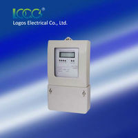 Three Phase Active & Reactive Electronic LCD energy meter /electricity meter /kWh meter LEM151JF/ JE/ MF/ ME