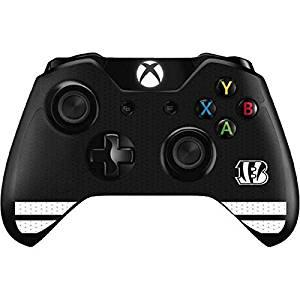 NFL Cincinnati Bengals Xbox One Controller Skin - Cincinnati Bengals Shutout Vinyl Decal Skin For Your Xbox One Controller