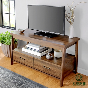 New Model TV Stand Cheap Frame Wood TV Floor Stand Table