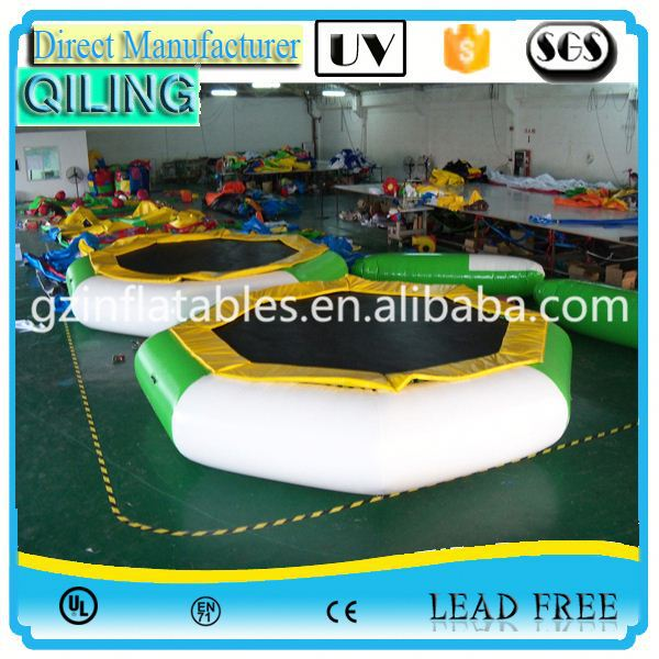 QL toys superior safety entertainment toy childrens inflatable trampoline for kiddie