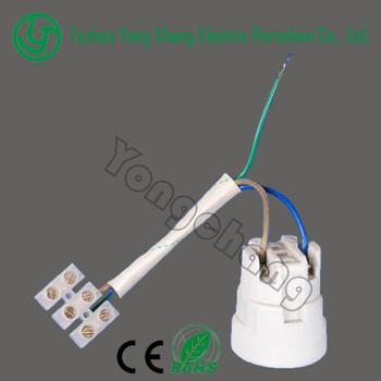 Heat resistant ceramic table led lamp holder e27 lamp base cap with heat resistant ceramic table led lamp holder e27 lamp base cap with wire keyboard keysfo Image collections