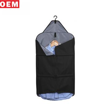 21d86ca8a2ce Luxury Foldable Non-woven Suit Cover Garment Bag Hanging Cloth Garment Bag  Wholesale