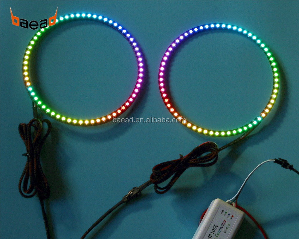 China Angel Eyes Lighting Manufacturers Neon Ring Ccfl Eye Shadow Double And Suppliers On