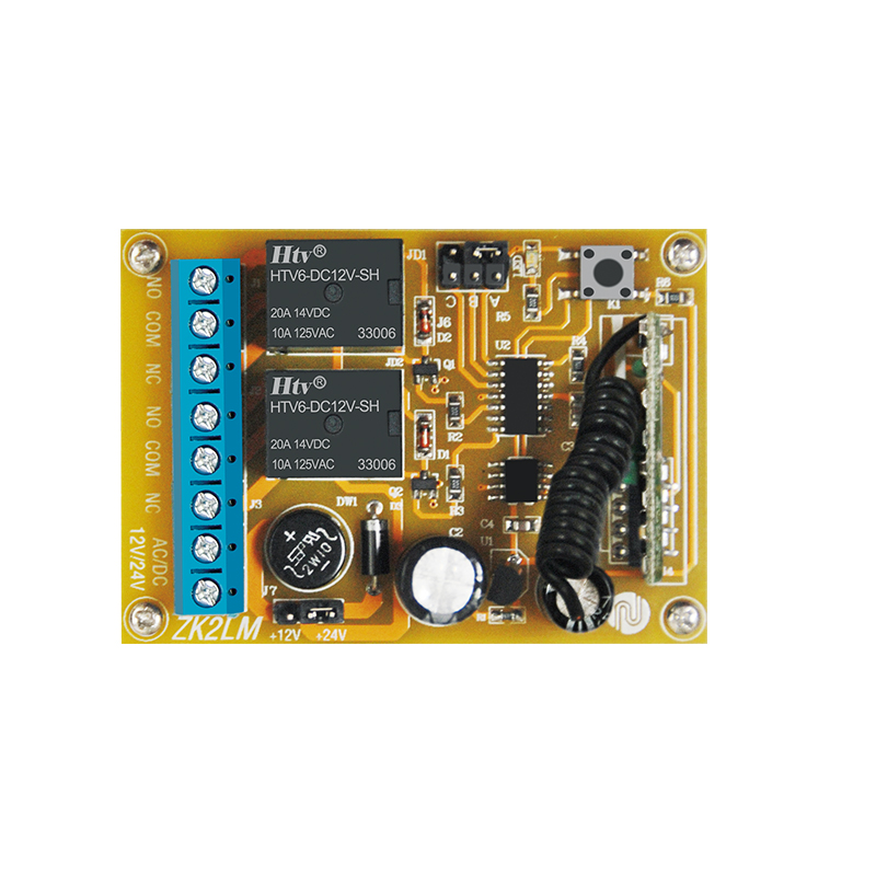 ZK4DC, Learning code,DC12V,super mini, transmitter and receiver,4channels