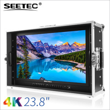 3840x2160 4K carry-on broadcast director led 23 inch monitor with Peaking pixel to pixel image flip