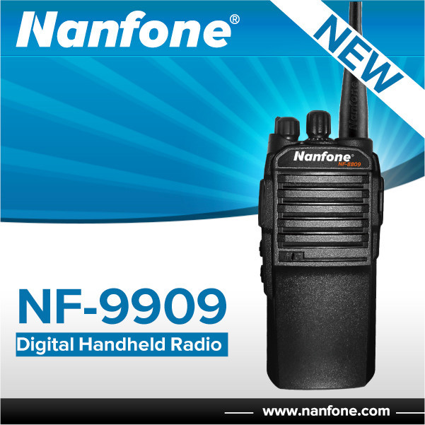 Nanfone NF-9909 UHF 400-470MHz Handheld FM Auto Police Scanner Two Way Radio