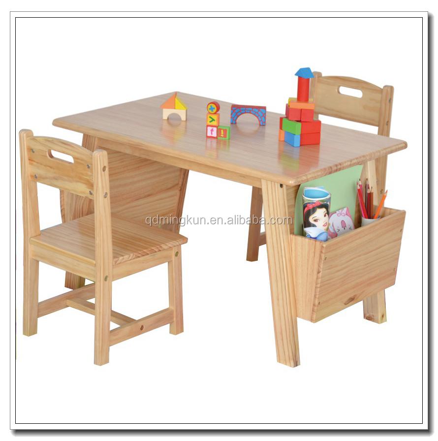 Çocuk Odası çalışma Masası Ve Ahşap Mobilyalar: 2016 Sıcak Ahşap çocuk çalışma Masası Ve Sandalye Ile