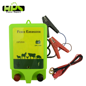 2J horse waterproof electric fencing energizer with earth stakes
