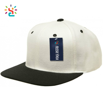 Custom Solid Color Snapback Hats Blank Two Tone Bulk White Yupoong Topi  Snapback Wholesale Stocks e5143444e5d