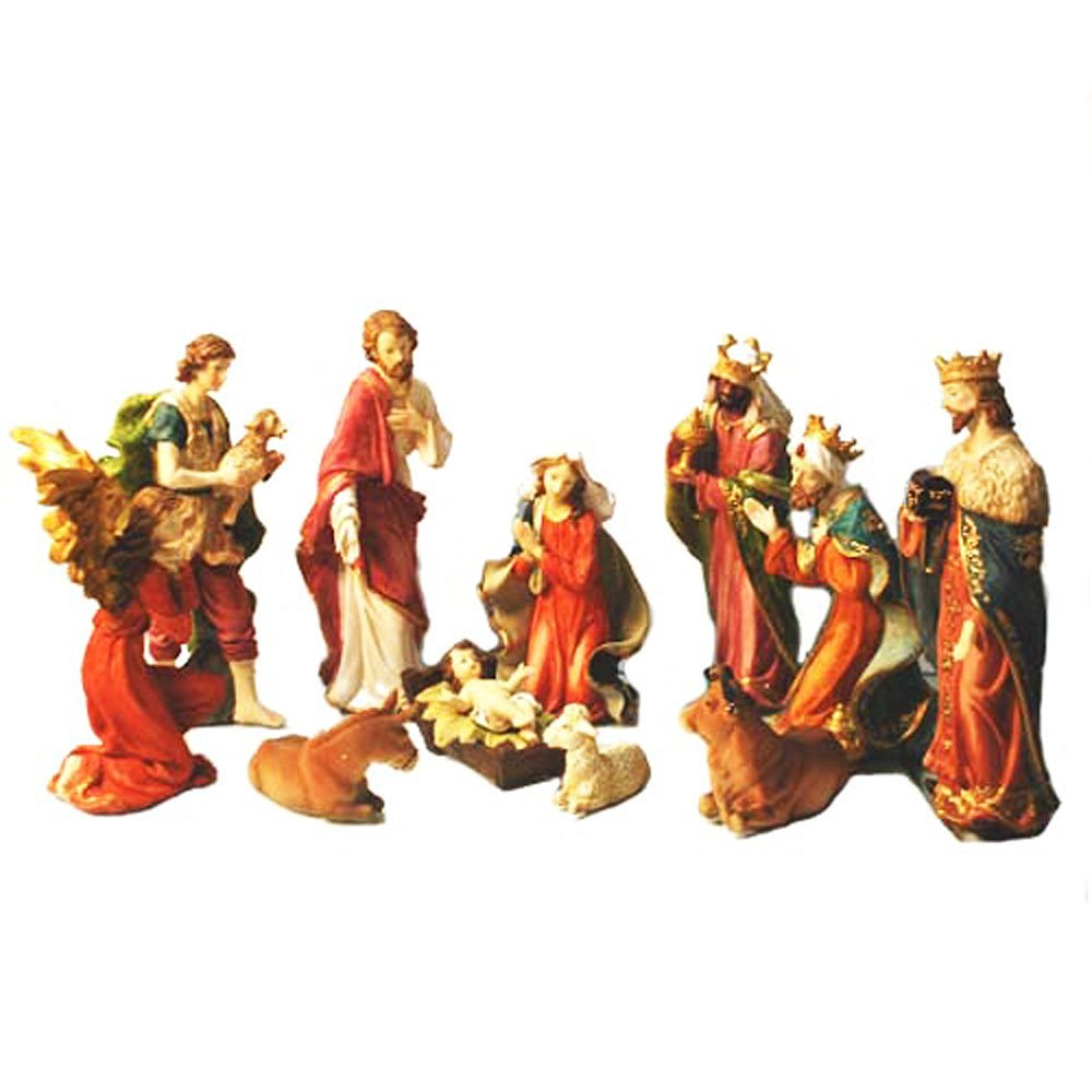 Get Quotations Nativity Set Full 15 Inch Large Real Life Sets For Christmas Holiday