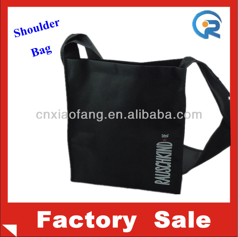 Wholesales cheap nonwoven sholder bag/resuable shoulder bag/gift bag
