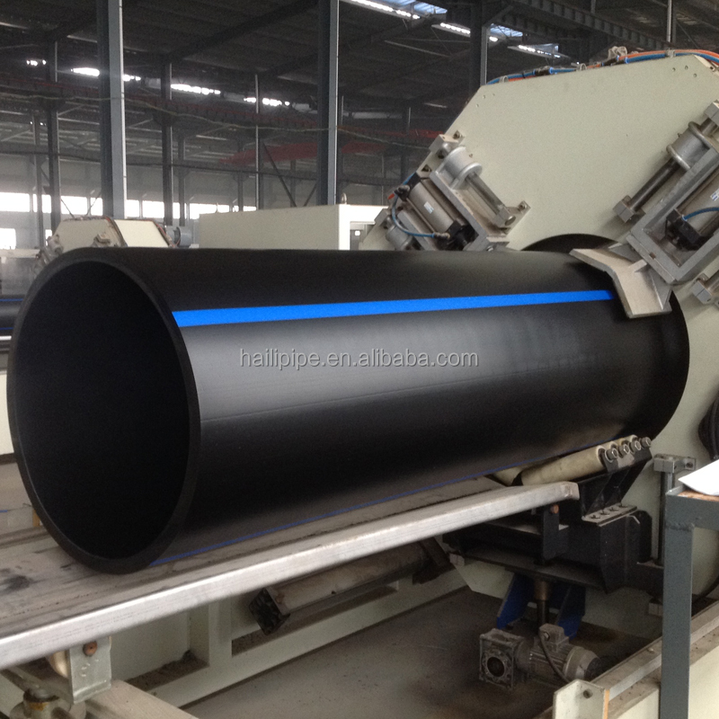 315mm SDR13.6 water supply HDPE pipe 1.25Mpa
