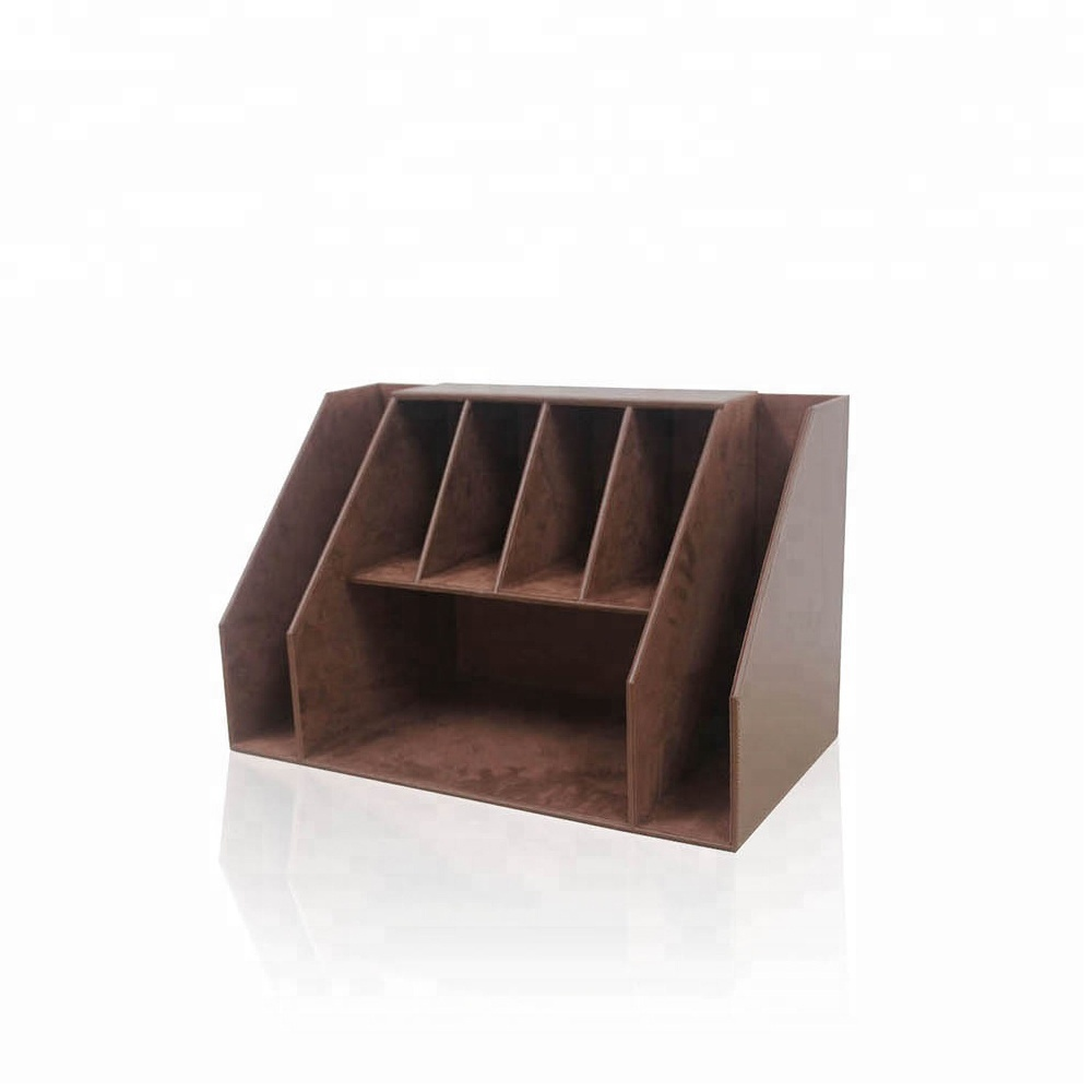 desktop document file folder holder leather