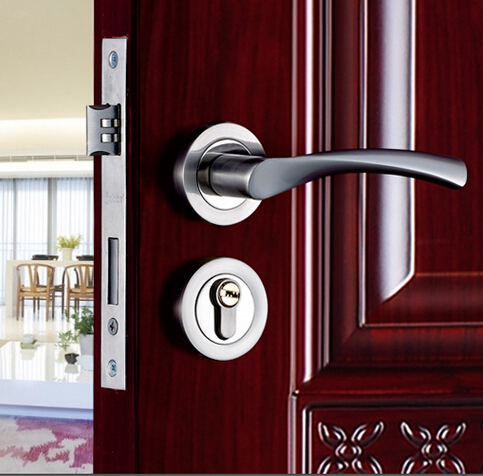 Top quality brand european style bedroom door handles - Bedroom door knobs with key lock ...