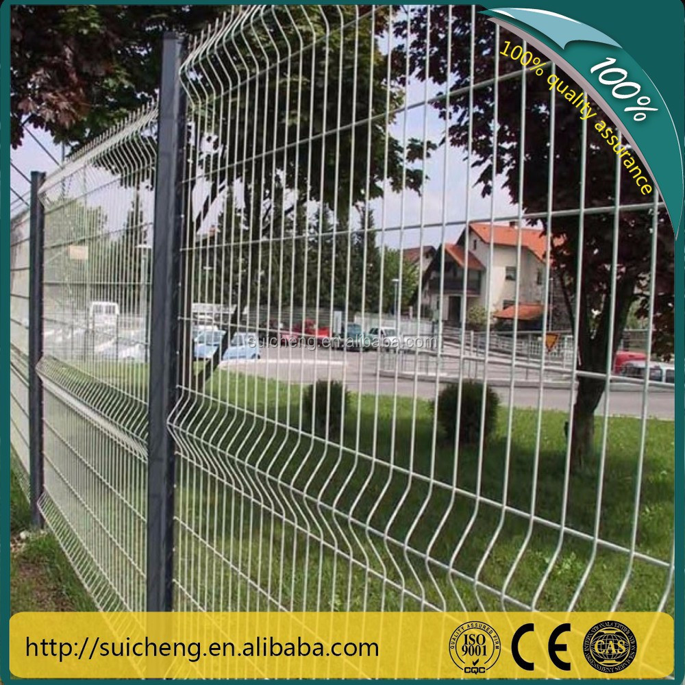 Galvanized Fencing/wire Mesh And Tube/pvc Coated Sword Fence(factory ...