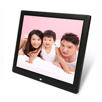 14 Inch Digital Photo Frame With Rechargeable Battery
