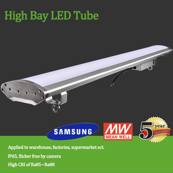 alibaba express warehouse,supermarket,toll roads Meanwell Driver 80w-200w dimmable LED high bay light