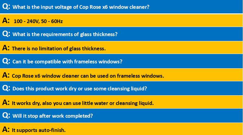 Upgrade !!! Cop Rose X6 PRO auto window cleaner vacuum, window glass cleaner, cleaner window