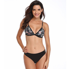 Factory price underwire swimsuit floating two piece swimwear