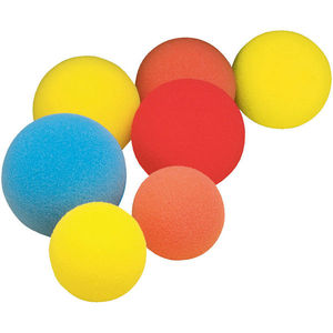 Custom Red Foam Sponge Balls concrete pump pipe cleaning sponge balls rubber sponge ball for pipe cleaning