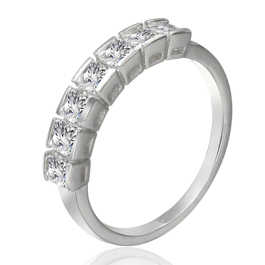 New design OEM fashion crystal wedding ring, diamond engagement ring for girl