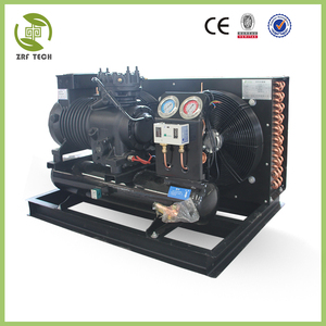 vibration resistant heating and air conditioning split system for workshop