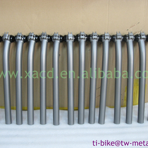 XACD made titanium bicycle seat post customized titanium bike seatpost best than carbon fiber bicycle seatpost