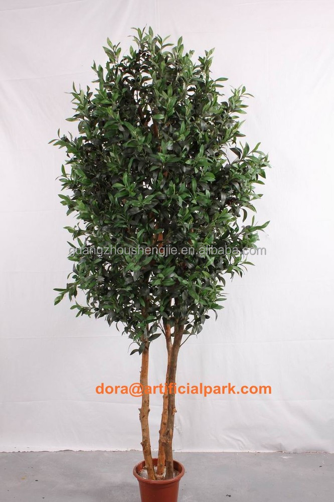 SJH1410501 artificial bonsai trees for sale ornamental olive tree 120cm artificial olive tree