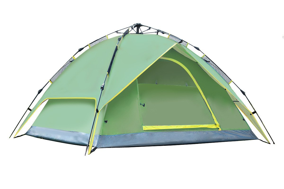 Upgrade Thickened Automatic Tent Outdoor Double Double 3-4 People Anti Rainstorm Camping