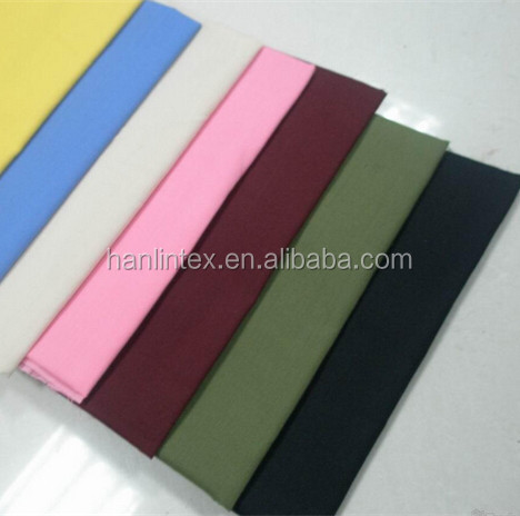45x45 110x76 polyester/cotton shirting fabric/t/c T80/C20 45*45 110*76 for shirting fabric pocketing fabric