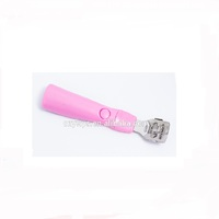 New arrival beautiful pink color callus remover trimmer nail care set