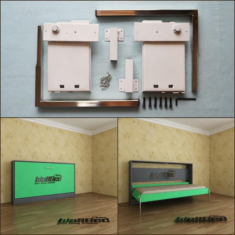 Mechanical Tv Lift Hardware : Queen size wall bed mechanism diy murphy