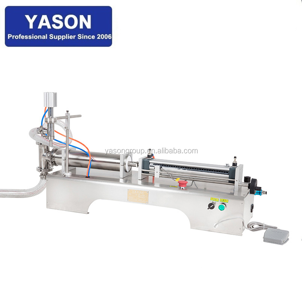 5-100ml Pneumatic Food Beverage Machinery Small Juice Filling <strong>Machine</strong>
