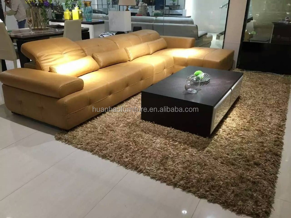 Living Room Furniture Leather Sofas
