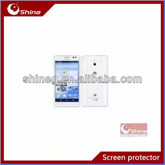Hot sale Japanese material high clear screen guard/shield for Huawi Ascend D2 oem/odm