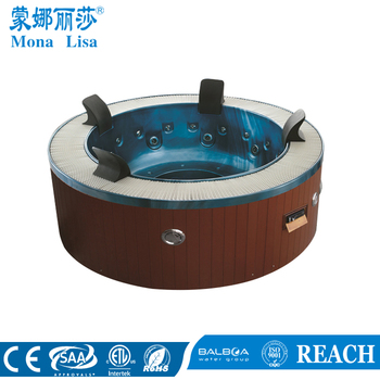 hotel project cheap price whirlpool round hot tub for 6 people with balboa control system m 3329. Black Bedroom Furniture Sets. Home Design Ideas