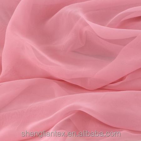 100D Polyester Chiffon Fabric Price Per Meter For Lady Dress Fabric
