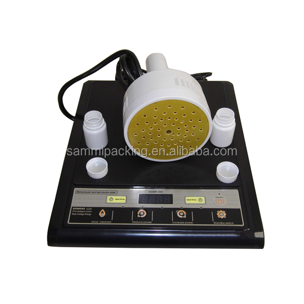 manual glass bottle Induction Sealing Machine