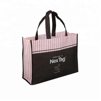 High quality but low cost custom grocery shopping eco recycle non woven bag non woven garment bag with your own logo printed