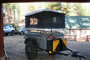 4x4 Truck Campers Fiberglass Hard Shell Car Camping Roof Tent