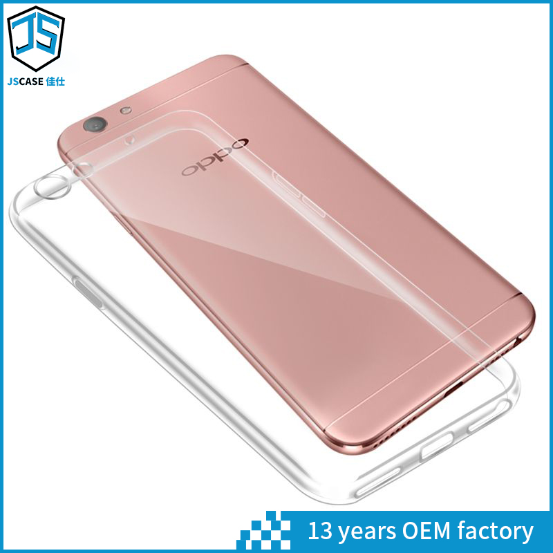 OEM customized flip TPU cover case for oppo f1 , for oppo f1 plus back case cover