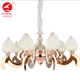 Flyinglighting antler beaded bubble sputnik baccarat frames chandelier led pendent light