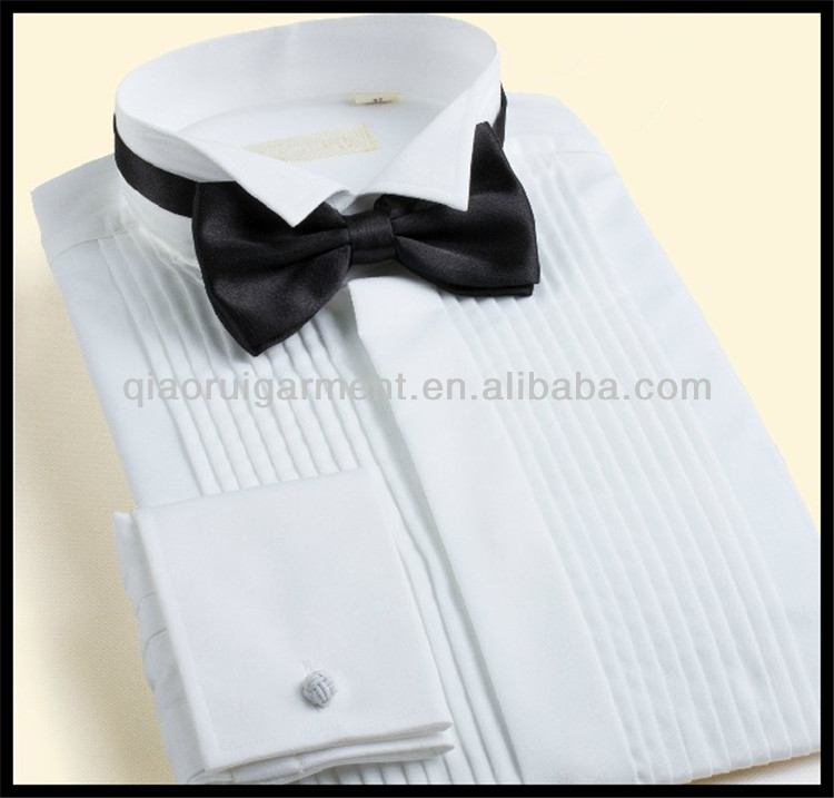 Wholesale Mens Wedding White Dress Shirts Latest Shirt Designs For ...