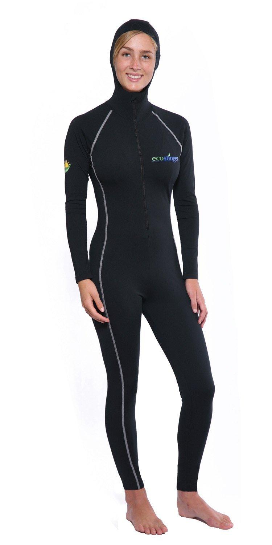 48252e92ac9 Women Full Body Swimsuit Stinger Suit Dive Skin Hooded UV Protection  Swimwear