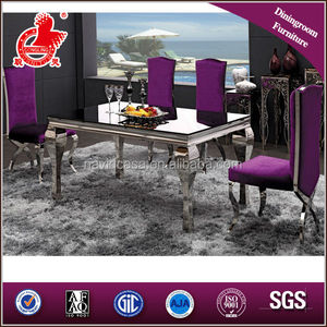 A8028 Purple Dining Table Set
