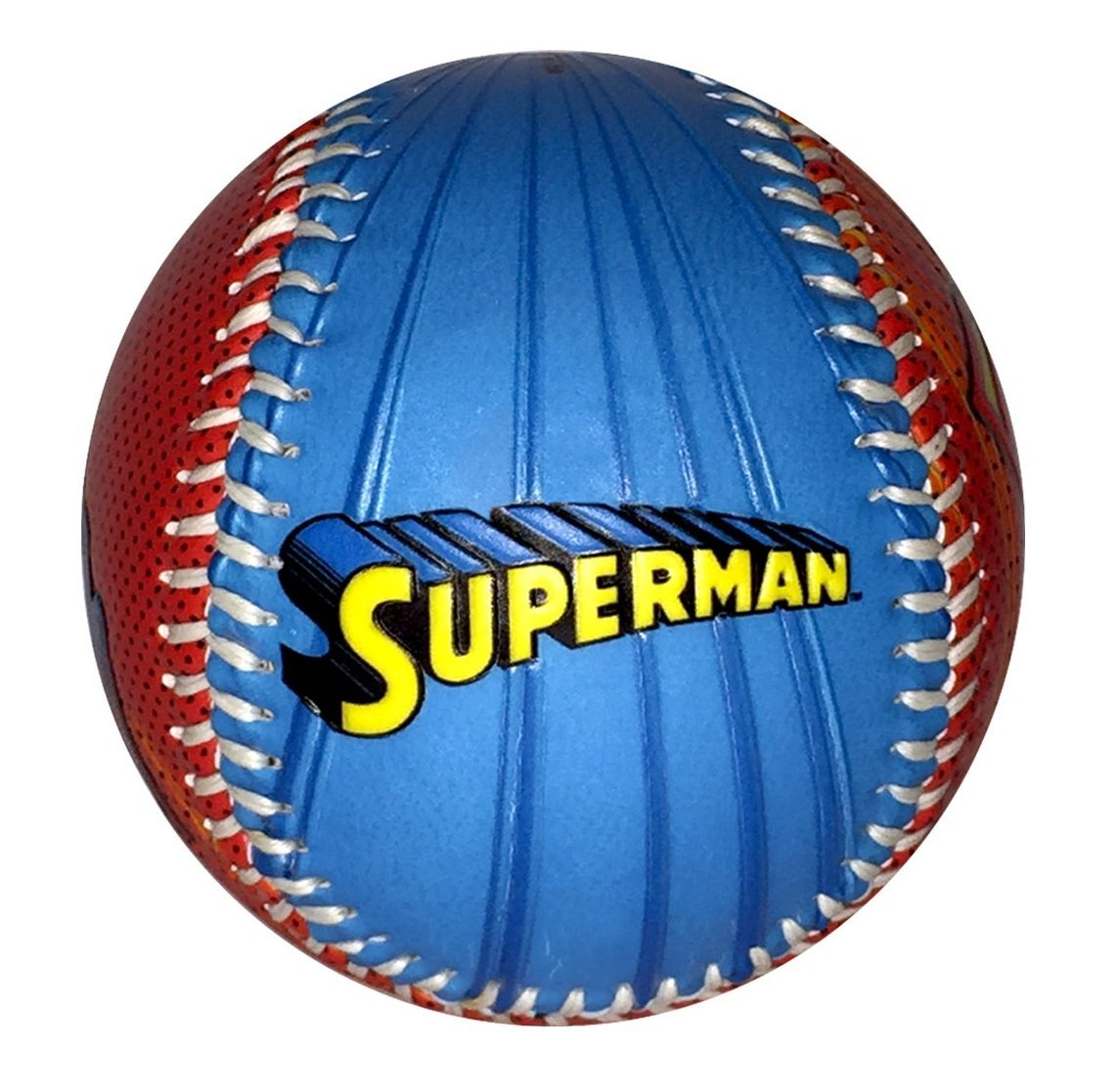Superman Logo Here I Come To Save The Day Dc Comics Blue Red Baseball