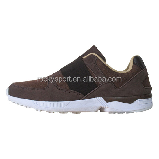 Men No Lace Casual Shoes Elastic Cord Style Sports Walking Shoes HT-101286A