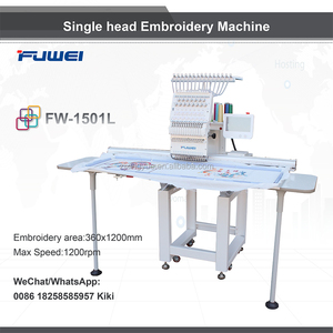 Fuwei single head as barudan embroidery machine prices for big lun pictures