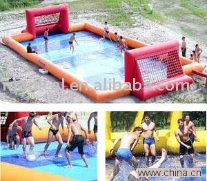 Inflatable soccer field inflatable water football inflatable water soccer field